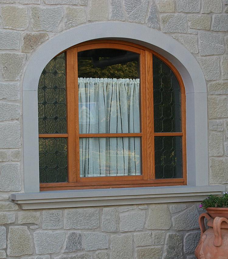 Finestre ad arco interesting finestra pvc nurith casaloft for Planimetrie della cabina ad arco